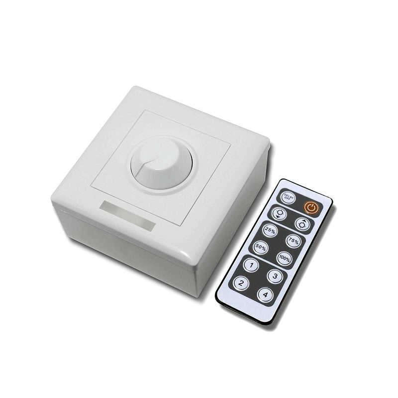 Regulador TRIAC Dimmer PWM + mando IR, 200W